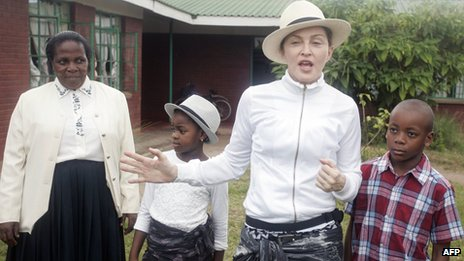 Malawi's president 'furious' after Madonna criticised