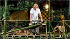 Bill Bailey in the jungle