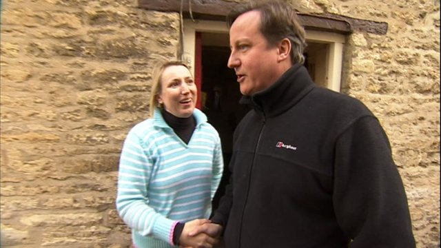 A Day In Witney For Prime Minister David Cameron Bbc News
