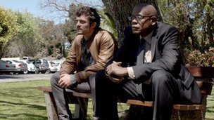 Orlando Bloom and Forest Whitaker