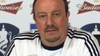 Chelsea interim boss Rafael Benitez