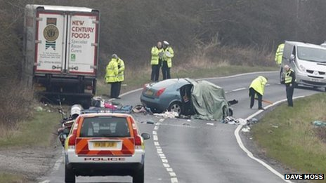 Cockburn family killed in Laceby A18 crash
