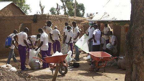 The clean-up operation in Zamfara