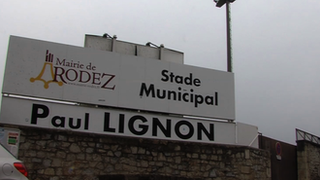 Le stade Paul-Lignon, home of Rodez