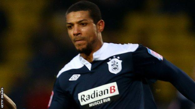Huddersfield's Jermaine Beckford