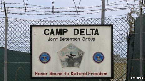 The exterior of Camp Delta is seen at the US Naval Base at Guantanamo Bay. Photo: March 2013
