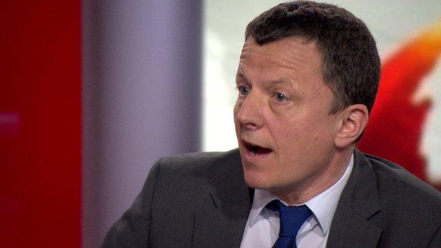 BBC News head of programmes Ceri Thomas