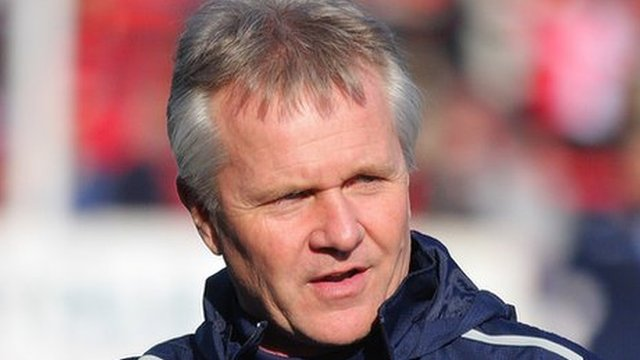 Kidderminster Harriers assistant manager Gary Whild