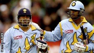 Sachin Tendulkar & Rahul Dravid