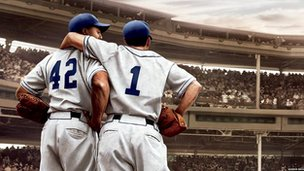A scene from 42
