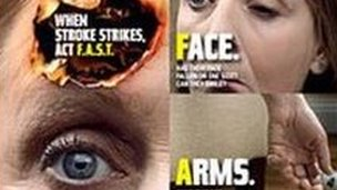 Stroke leaflet 