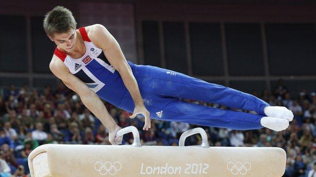 Gymnast Max Whitlock