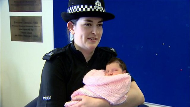 PC Charlotte Work with baby Charlotte