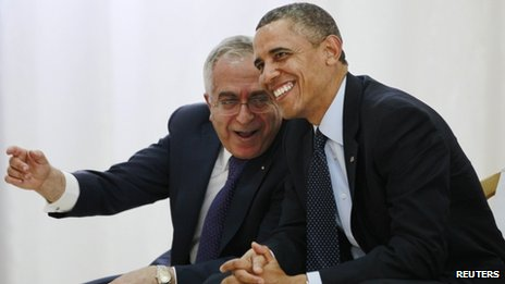 US President Barack Obama met Salam Fayyad during a visit in March
