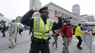 Boston police officer