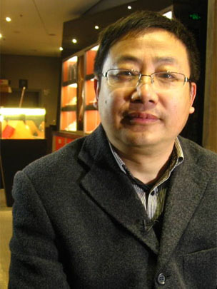Ding Chenghong, Zhang Xiaoquan's current general manager