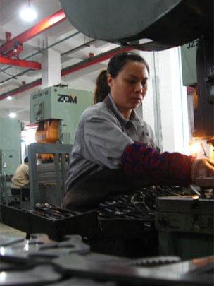 Worker at Hangzhou Zhang Xiaoquan Company