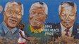 A mural of Nelson Mandela in Johannesburg