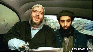 Abu Hamza and Haroon Aswat