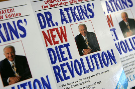 Dr Atkins' New Diet Revolution paperbacks