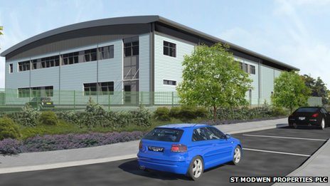 Image of proposed Ambulance Special Operations Centre at Skypark,