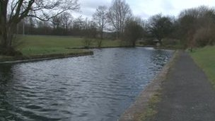 Leeds and Liverpool Canal in Burnley
