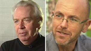 David Chipperfield (left) & Wayne Hemingway (right)