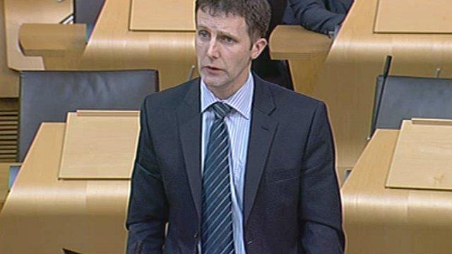 Public Health Minister Michael Matheson
