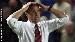 Malky Mackay does the Ayatollah