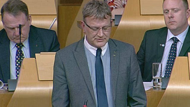 SNP MSP David Torrance