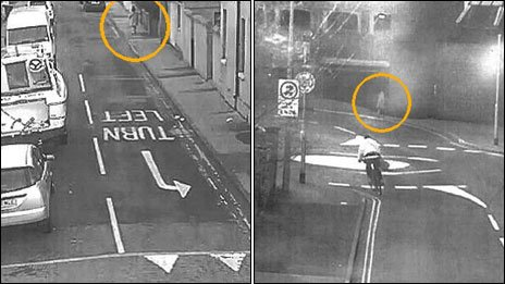 Fiona Anderson on two CCTV images