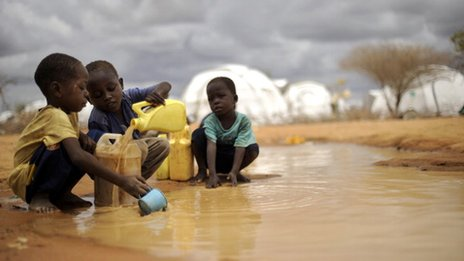 children in dadaab refugee camp