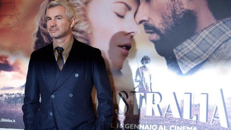 Baz Luhrmann promoting his 2008 film Australia