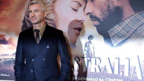 Baz Luhrmann promoting his 2008 film Australia