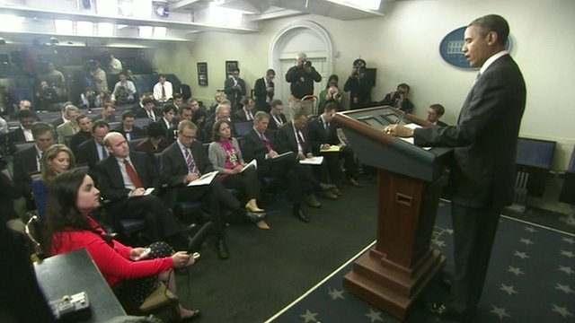 President Obama at news conference