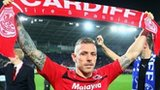 Craig Bellamy celebrates winning promotion