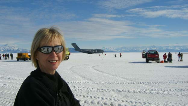 Diana Wall in Antartica