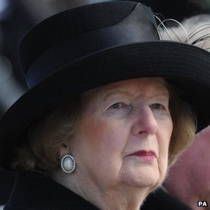 Baroness Thatcher in 2010