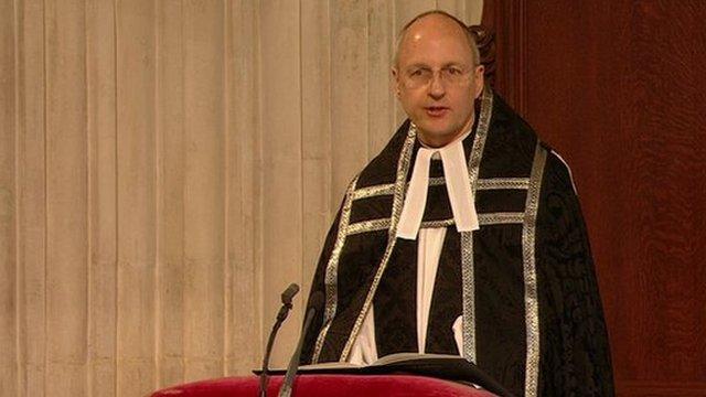 Dean of St Paul's David Ison