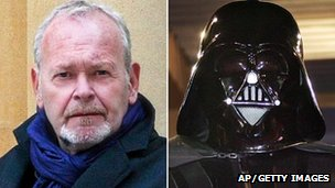Richard LeParmentier and Darth Vader