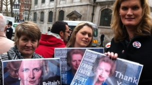 Thatcher supporters