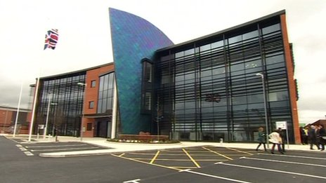 Leicestershire Fire and Rescue's new headquarters