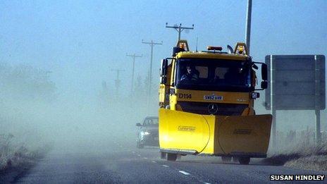 Sandstorm/Pic: Susan Hindley