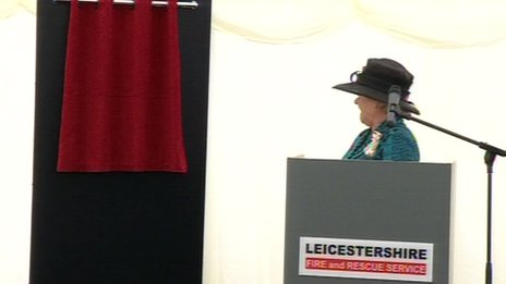 Jennifer, Lady Gretton, Lord Lieutenant of Leicestershire
