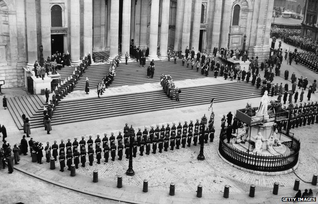 State funeral of Winston Churchill