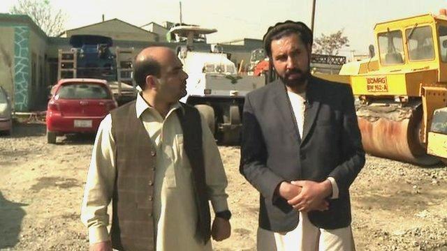 Bilal Sarwary and Rashid Zadran