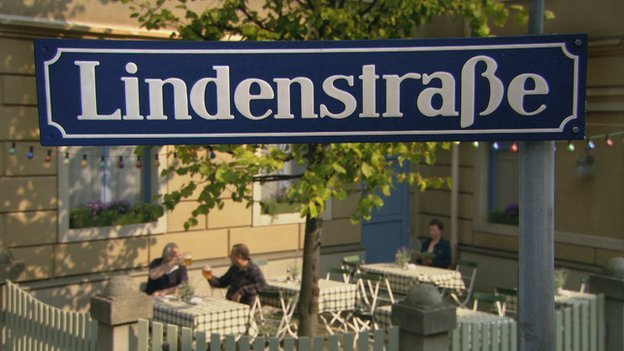 The Lindenstrasse sign