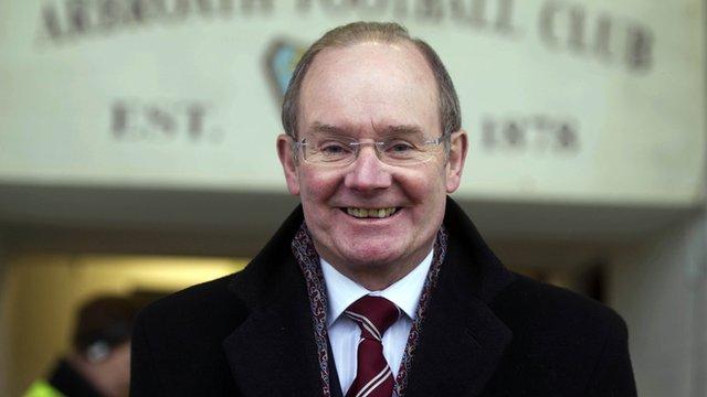 Arbroath chairman John Christison