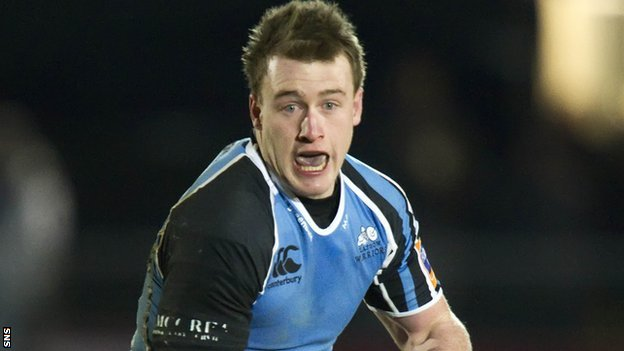 Glasgow Warriors full-back Stuart Hogg