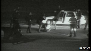 Rodney King assault footage